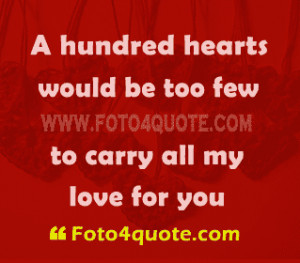 You are here: Home Romantic quotes Romantic love quotes – My love to ...