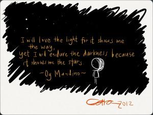 Dark Quotes HD Wallpaper 7