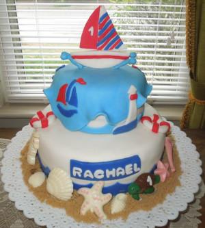 Nautical Theme Retirement Cake