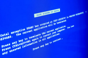 Mac users may not see the infamous Blue Screen of Death that Windows ...