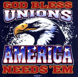 God Bless Unions