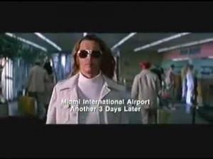 Blow: Airport scene