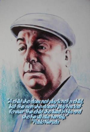 Pablo Neruda English quote