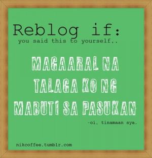 Pinoy Jokes Quotes Tagalog Version