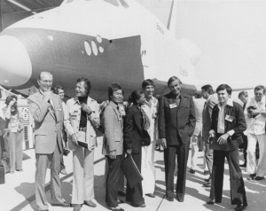 Walter Koenig, Leonard Nimoy, DeForest Kelley, George Takei, Nichelle ...
