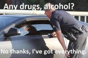 Any drugs or alcohol