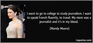 More Mandy Moore Quotes