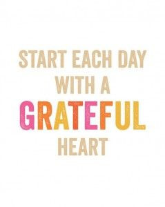 Thankful Thursday...