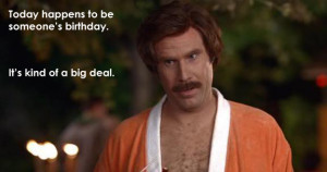 Will Ferrell Happy Birthday...