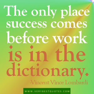 Motivational Quotes for Work, Work hard and job