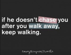 Just keep walking. Just keep walking.