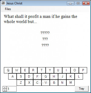 Genius Quote Challenge - The main window allows you to guess the ...