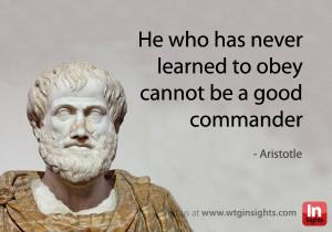 Leadership #Aristotle