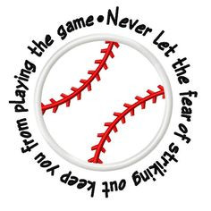 ... , softball sayings, baseball designs appliques, quot, sport sayings