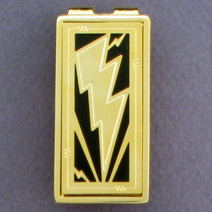 Customize This Lightning Bolt Money Clip
