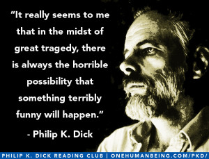 It really seems to me that in the midst of great tragedy, there is ...