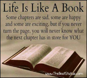 quotes life is like a book