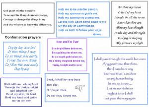 Confirmation Prayer