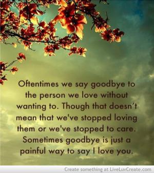 cute, goodbye, goodbye could say i love you, heartbreak, life, love ...