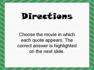 Christmas Movie Trivia Game