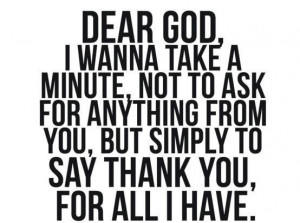 Thank You, Lord! :)