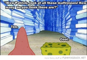 spongebob patrick tv Nickelodeon mattresses 10 cool funny pics ...