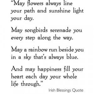 Irish Blessings to Display