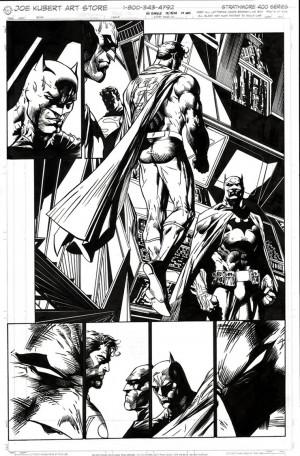 Jim Lee Comic Page