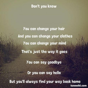 You'll Always Find Your Way Back Home - Miley Cyrus/Hannah Montana