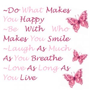 cute quotes about life and happiness