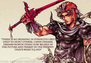 There is no meaning in strength used only to hurt others. I have ...