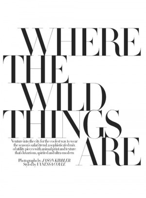 Where the wild things are-