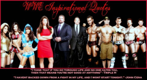 WWE Inspirational Quotes
