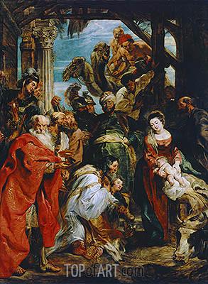 Rubens The Adoration Magi