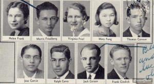 Frank Family Helen frank and seniors from