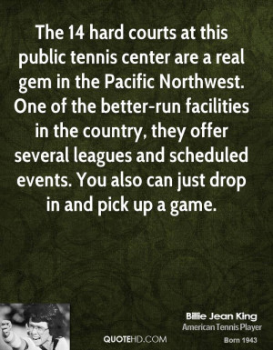 The 14 hard courts at this public tennis center are a real gem in the ...