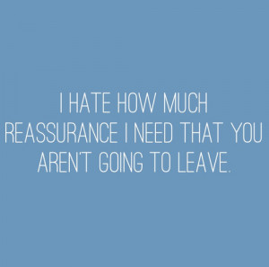 Here are my Strategies for dealing with Excessive Reassurance Seeking