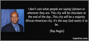 More Ray Nagin Quotes