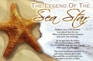 Starfish Poem Card Pictures