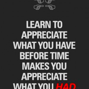 Appreciation Quotes And Sayings