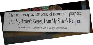 Am My Sisters Keeper Quotes I am my sister's keeper.