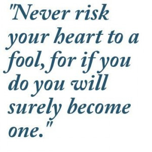 Fool Quotes Words Images