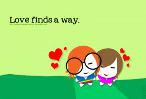 love finds way quotes