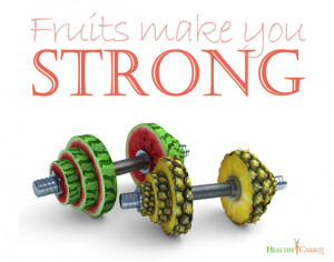 Funny Quote - Power fruit2