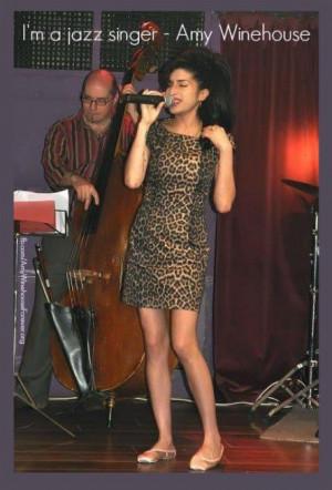 jazz singer - Amy Winehouse