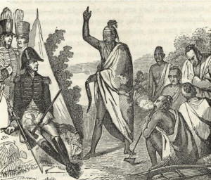 Treaty with the Creeks, Fort Jackson, 1814