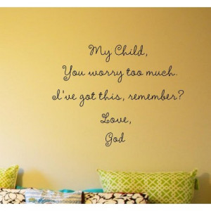ve got this, remember? Love, God Vinyl wall art Inspirational quotes ...