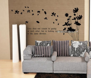 Removable Wall Art Decals Quotes