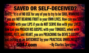 Saved or Self Deceived? By John MacArthur. Salvation Survey Series on ...