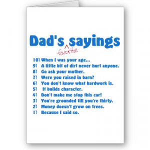 Funny Father's Day Quotes & Sayings
